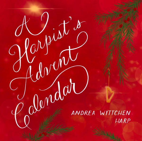 Harpist's Advent Calendar CD by Andrea Wittchen